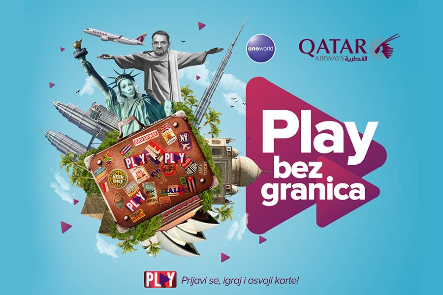 PLAY i Qatar Airways te vode bilo gde na planeti!